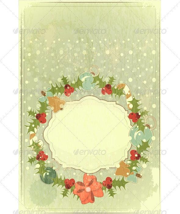 Old Christmas Postcard - Christmas Seasons/Holidays