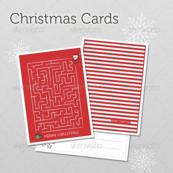 Christmas Cards Set 6