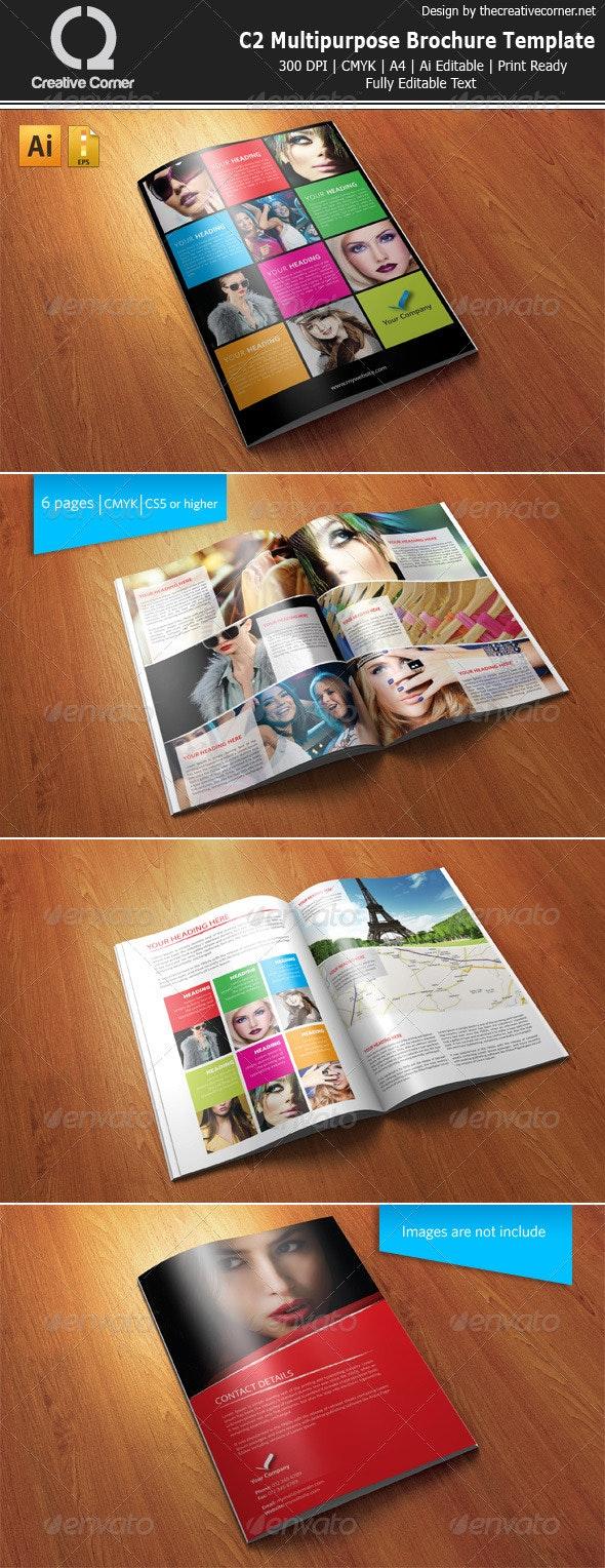 C2 Multipurpose Brochure Vol.12 - Brochures Print Templates