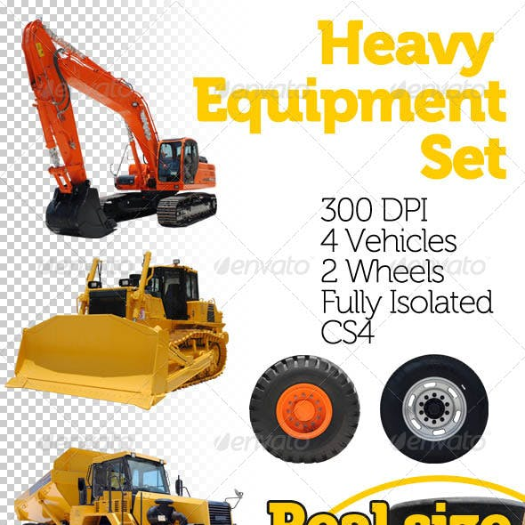 Heavy Equipment Set