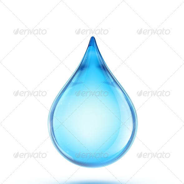 Water Drop Logo