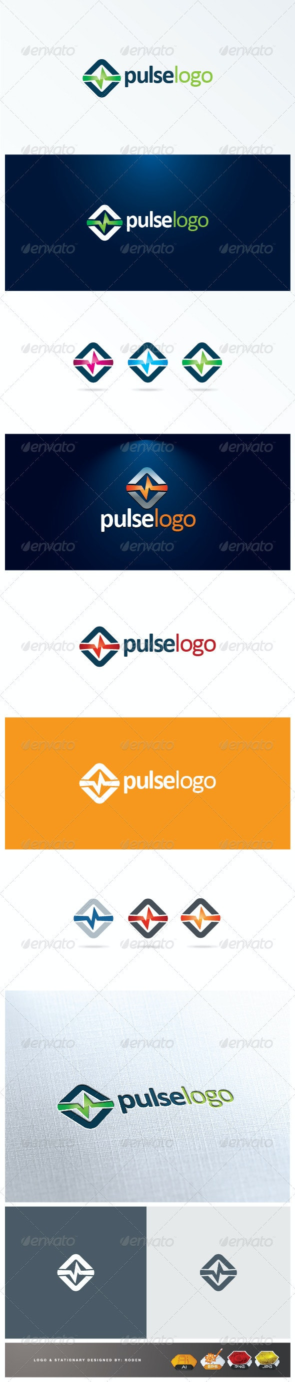 Pulse logo - Symbols Logo Templates