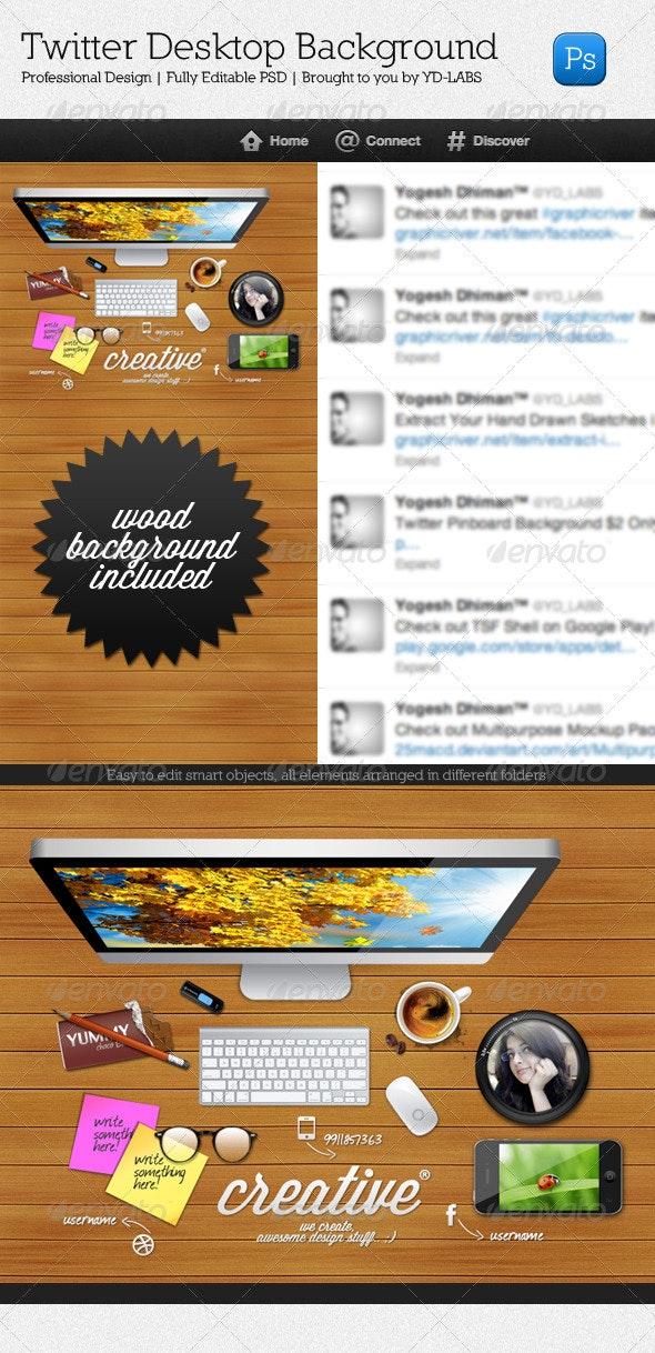 Twitter Desktop - Twitter Social Media