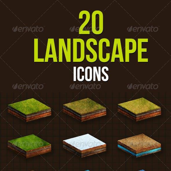 20 Landscape Icons
