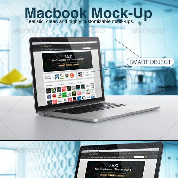 Macbook Mock-Up
