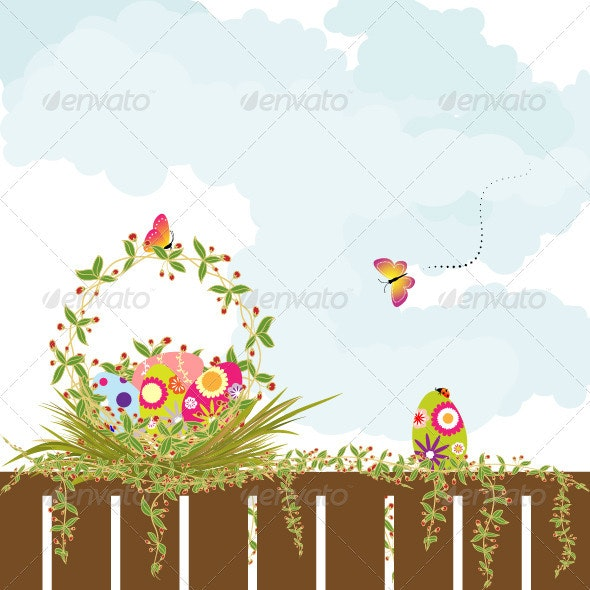 Springtime Easter Holiday Wallpaper - Backgrounds Decorative