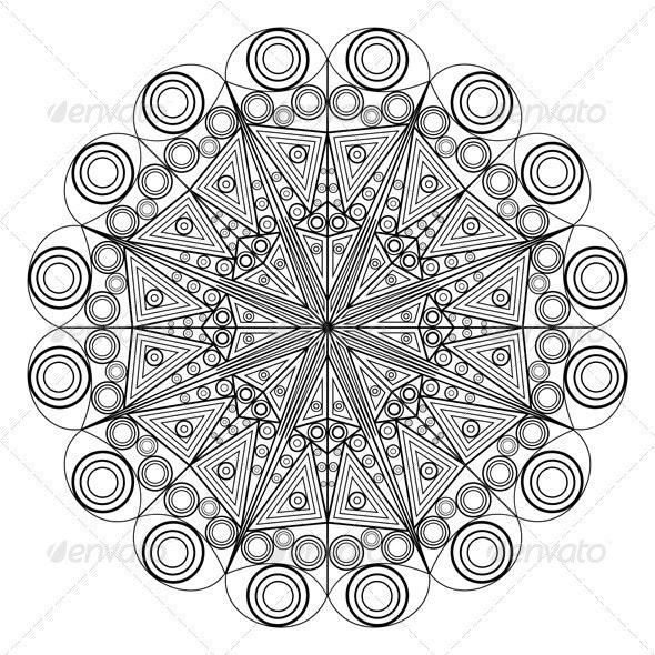 Ornamental Eelement - Decorative Symbols Decorative