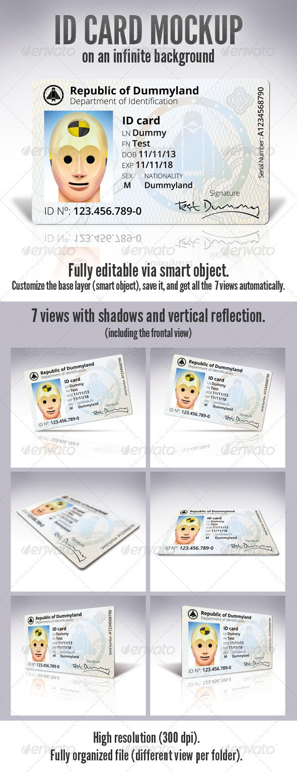 ID Card - Miscellaneous Print