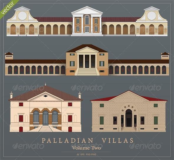Palladian Villas - Volume 2 - Buildings Objects
