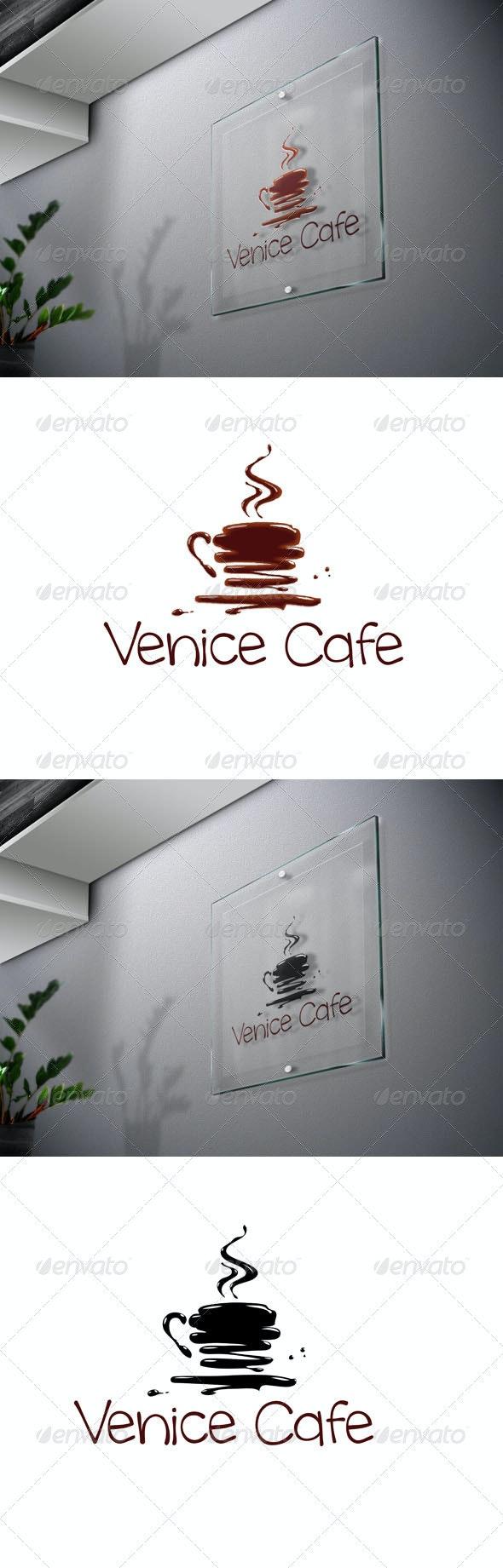 Venice Cafe 1 Logo Template - Food Logo Templates