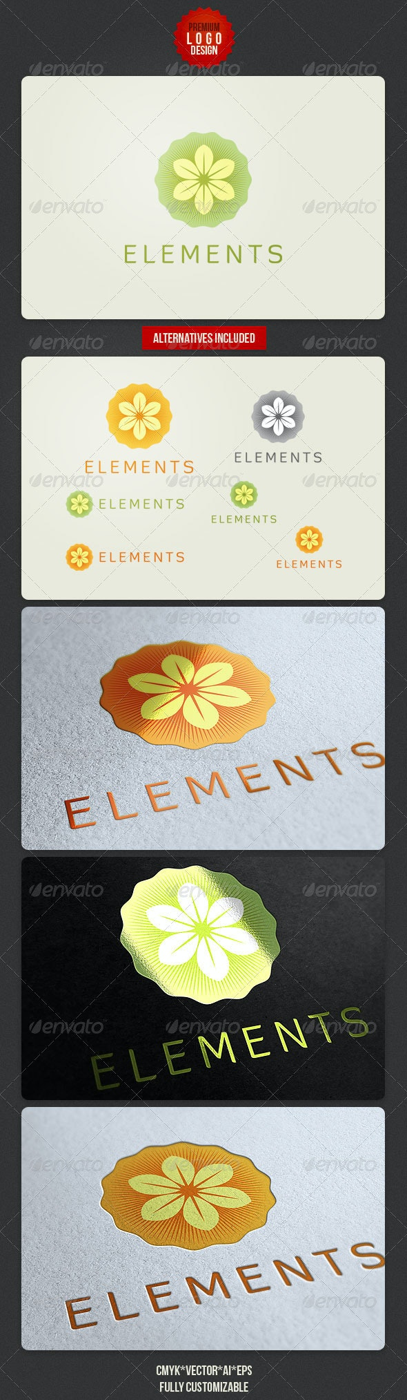 Clean Natural Logo - Nature Logo Templates