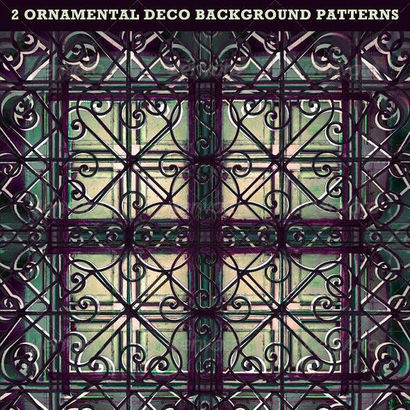 Ornamental Deco Background Pattern