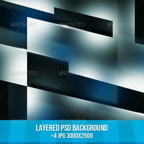 Dark Shapes Background