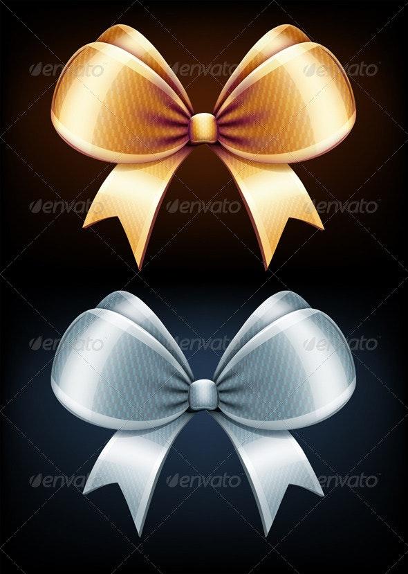 Classic Bows  - Decorative Symbols Decorative