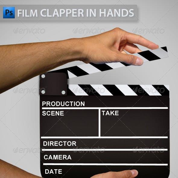 Clapper in Hands