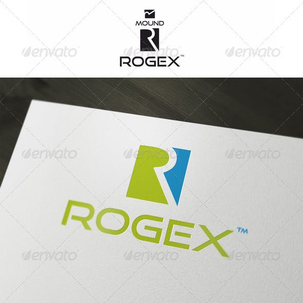 R & M Abstract Logo