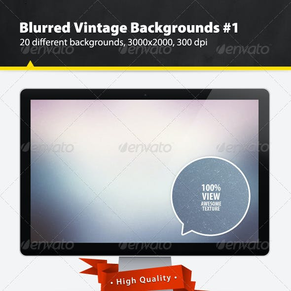 Blurred Vintage Backgrounds #1