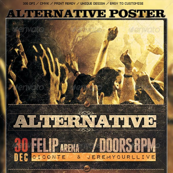 Alternative Poster/Flyer Template