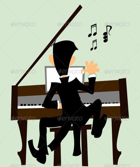 Pianist - People Characters