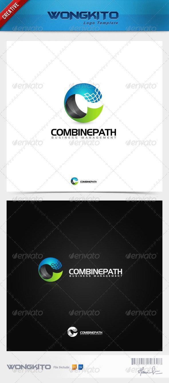 Combine Path - Letters Logo Templates