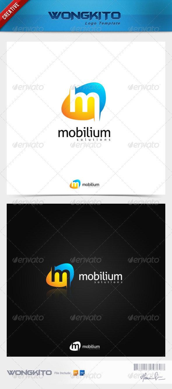 Mobilium Demonstrate - Letters Logo Templates