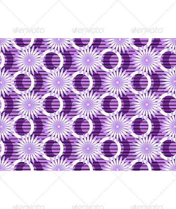 Purple Flowers on Purple Background - Flowers & Plants Nature