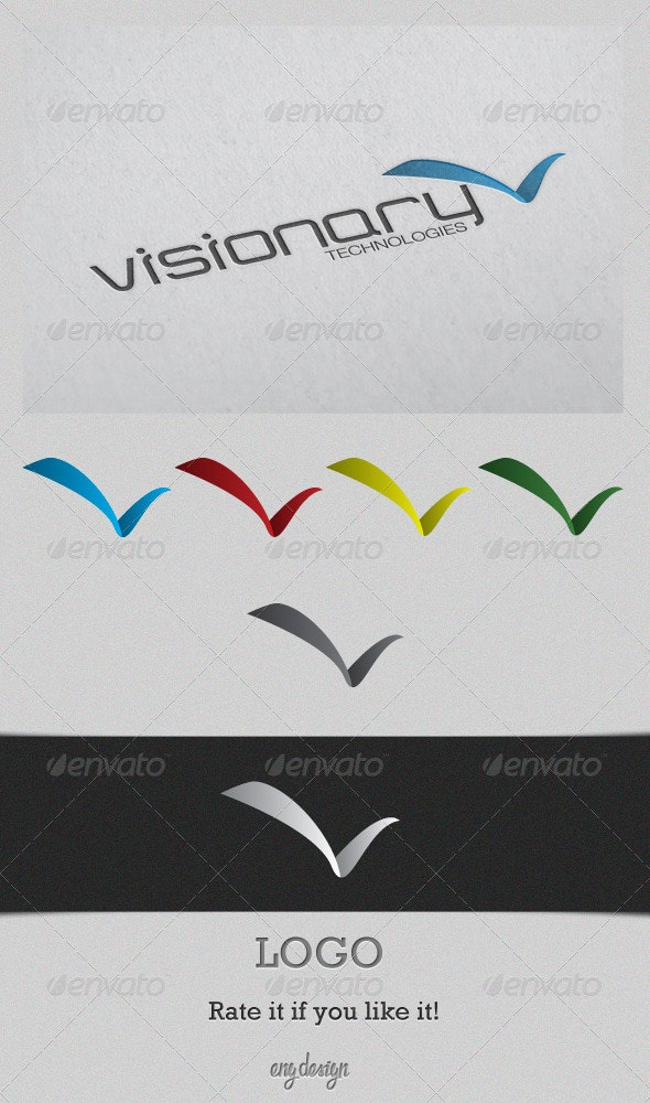 Visionary - Letters Logo Templates