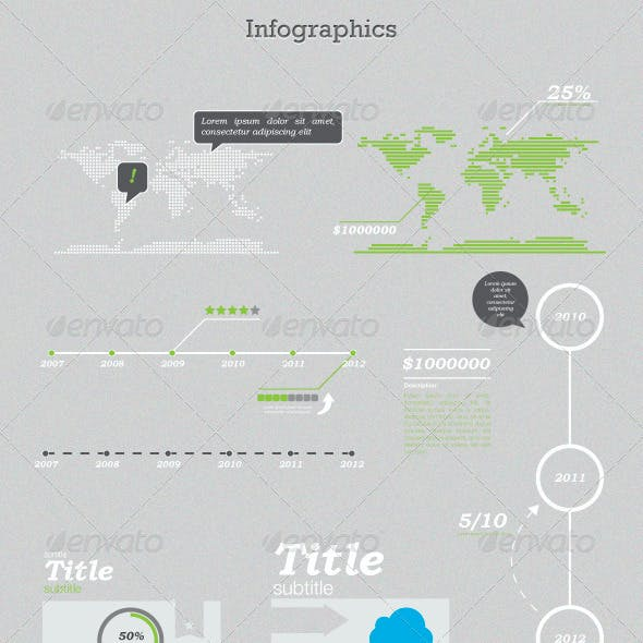 Greeny - Infographics Kit