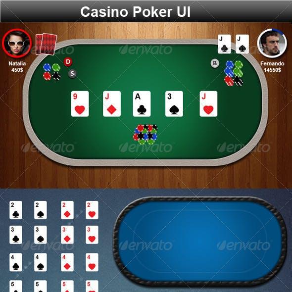 Casino Poker Game Elements