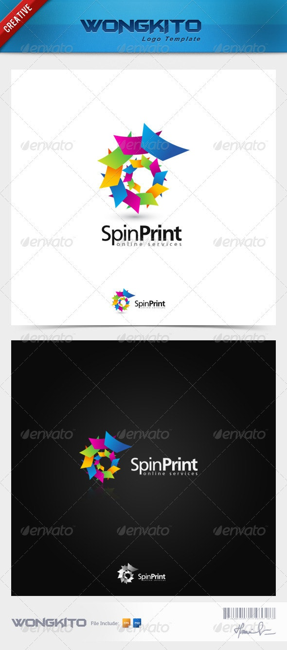 SpinPrint - Vector Abstract