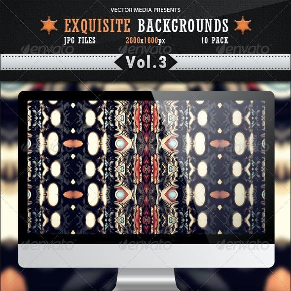 Exquisite Backgrounds - Vol 3