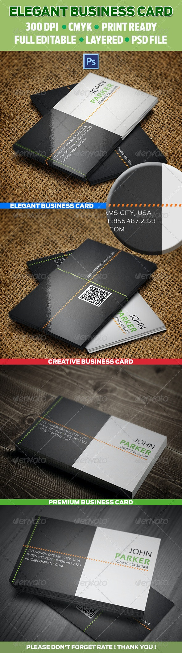 Creative Business Card 16 - Corporate Business Cards