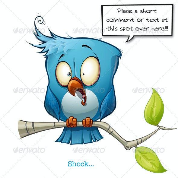 Blue Bird Shock-LOL-Emotional