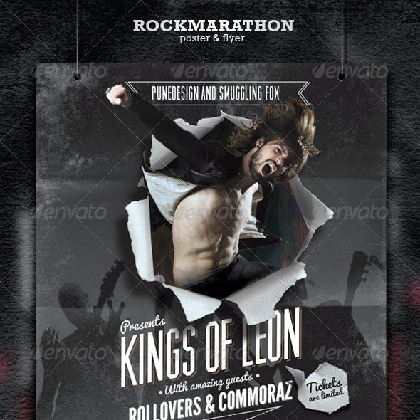 Rock Poster & Flyer
