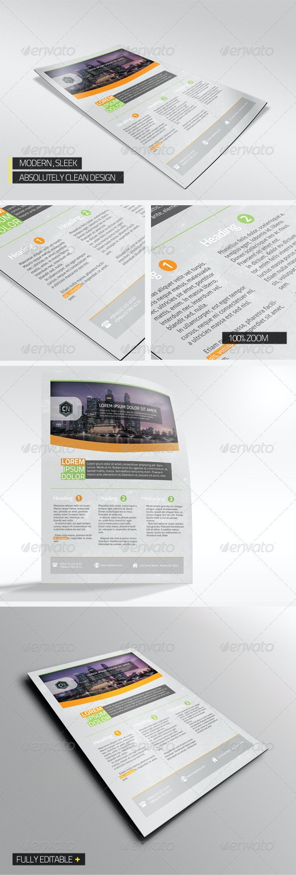 Modern Corporate Flyer - Corporate Flyers
