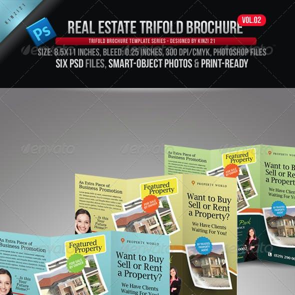 Real Estate Trifold Brochure Vol.02