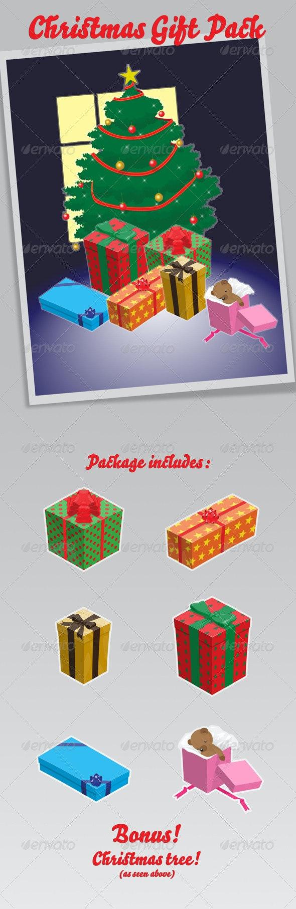 Christmas Gift Pack  - Christmas Seasons/Holidays