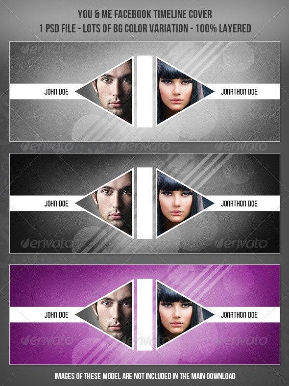 You & Me Timeline Cover - Facebook Timeline Covers Social Media