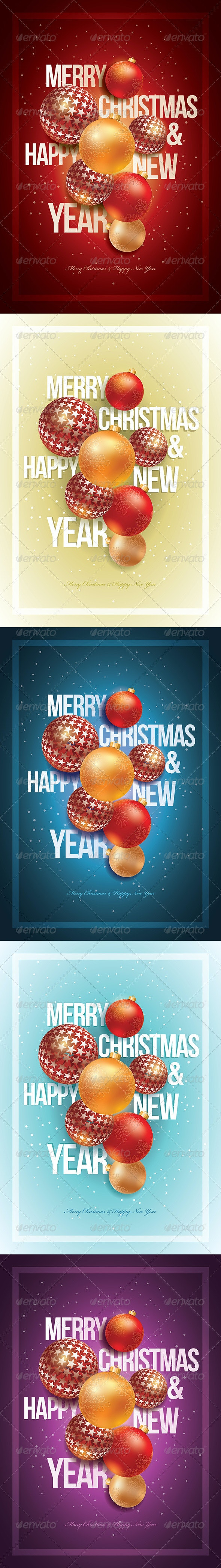 Merry Christmas & Happy New Year - Christmas Seasons/Holidays