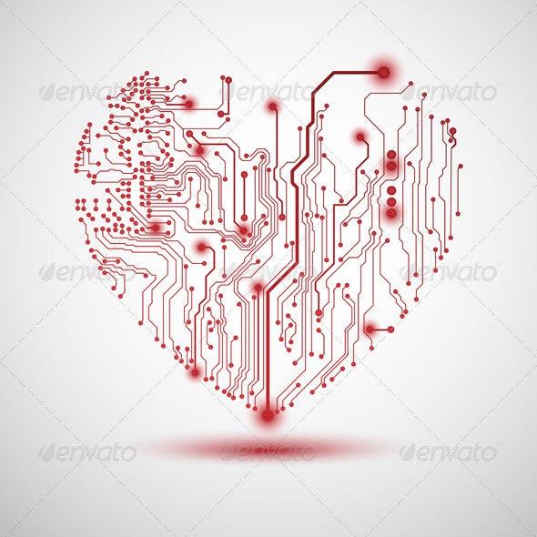 Electric Heart - Valentines Seasons/Holidays