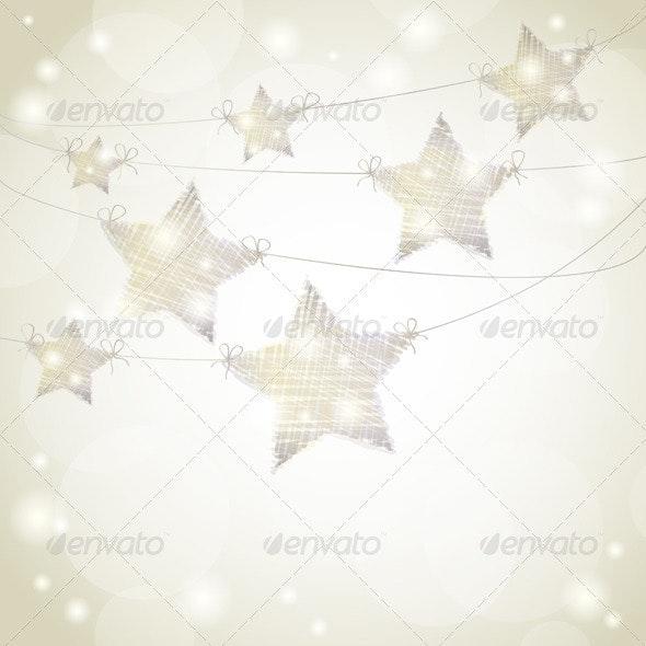 Hanging Stars - Christmas Seasons/Holidays