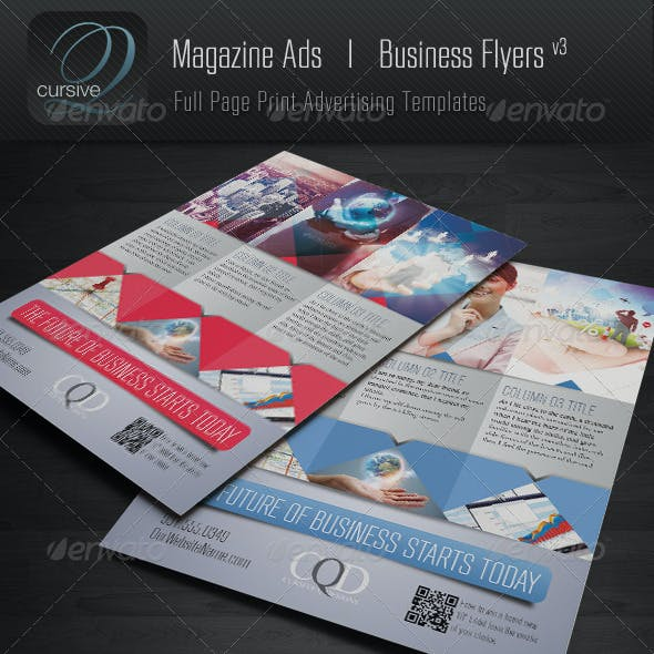 Magazine Ad | Business Flyer V3