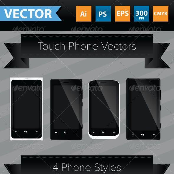 Smart Phone Vectors
