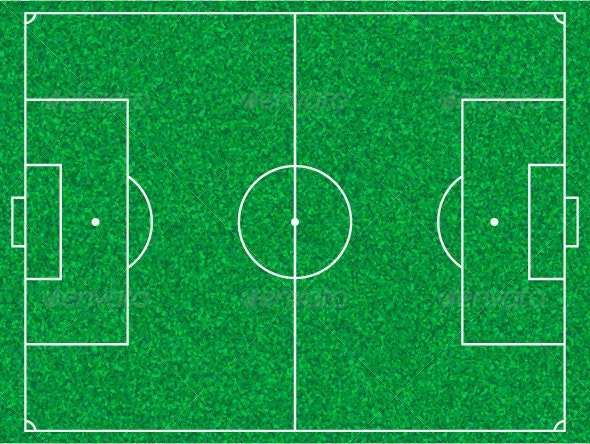 Soccer Field - Sports/Activity Conceptual