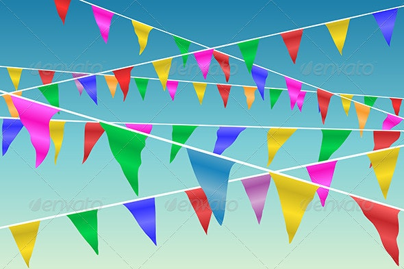 Bunting Flags - Miscellaneous Vectors
