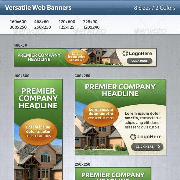 Versatile Web Banners
