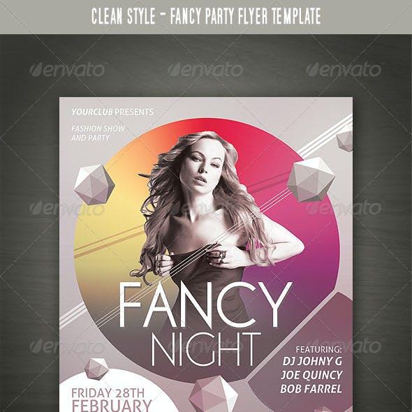Fancy Party Flyer