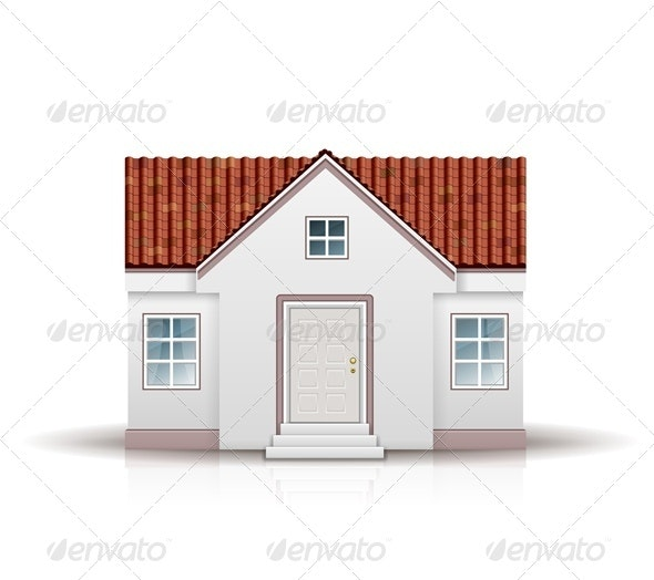 House Vector Illustration - Buildings Objects
