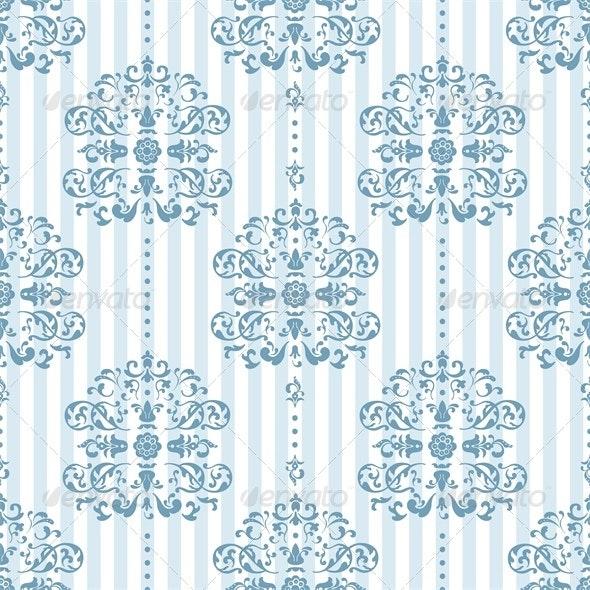 Royal Blue Background Pattern - Patterns Decorative