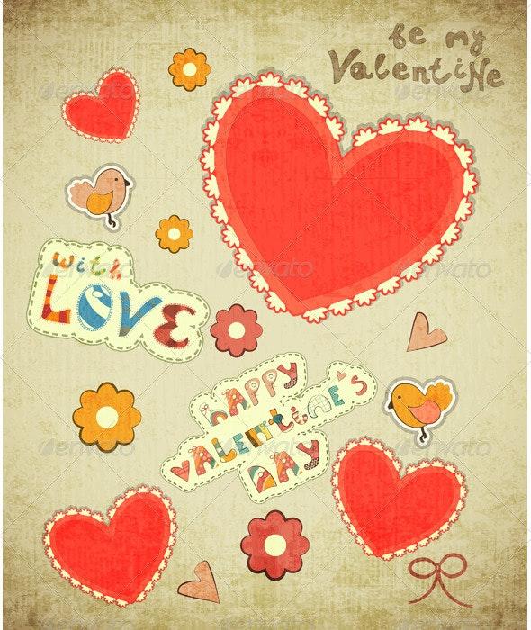 Valentines Day Card - Valentines Seasons/Holidays